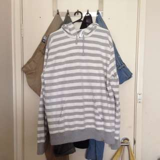 Carhartt Stripe Hooded Jumper