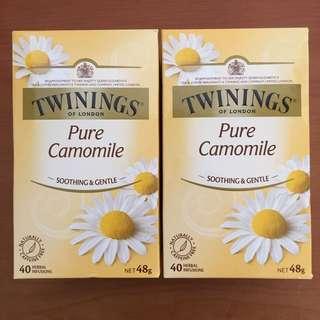 Twinings 洋甘菊花茶 一盒120(40包)