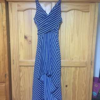 BNWT Rumor West End Dress Stripe