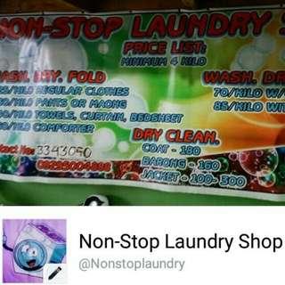 who needs Laundry service