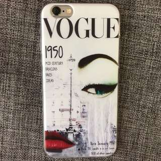 Vogue Cover iPhone 5/6/6Plus Case