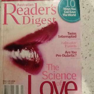 Australian Readers Digest
