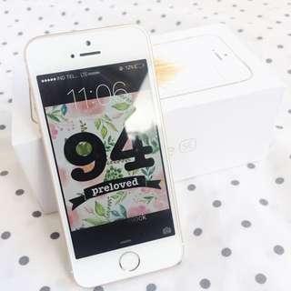 iPhone SE 16 GB Gold Fullset Ex Inter