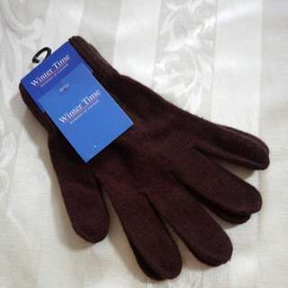 ⛄X'MAS SALES**$6**⛄ BNIP Adult Acrylic Gloves -- From Winter Time (Size F) -- Free by Mail