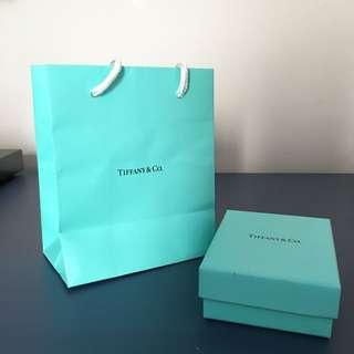 Genuine Tiffany & Co Infinity Ring