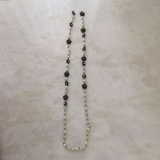 Pearl Camellia Necklace
