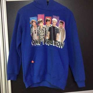 ONE DIRECTION BLUE HOODIE