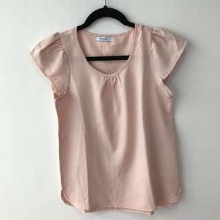 peach cute shirt by ValleyGirl