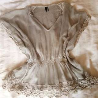 REPRICED!! People Are People See Through Blouse