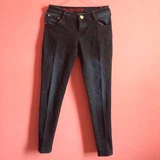 Black Skinny Jeans / Celana Jeans Skinny Hitam