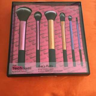 Real Techniques Sams Picks Makeup Brush Set Authentic bnib