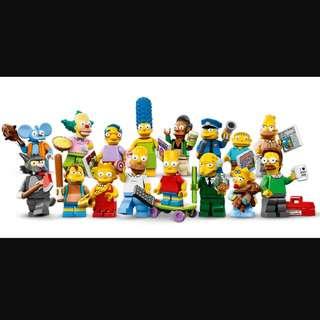 71005 Lego,超筍價,the Simpsons第一代❤️極平*60隻