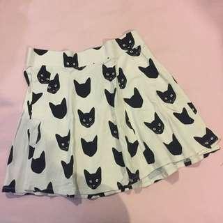 H&M Kitty Skater Skirt