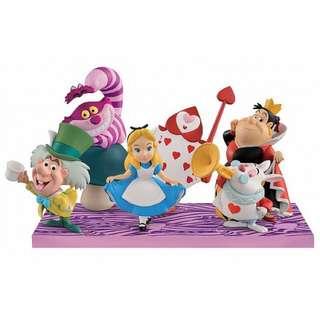 WCF 愛麗絲 妙妙貓 時間兔 紅心皇后 撲克兵 公仔 玩具