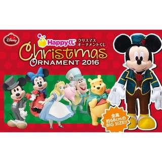 一番賞 聖誕 迪士尼 米奇 米妮 公主 維尼 愛麗絲 妙妙貓 三眼怪