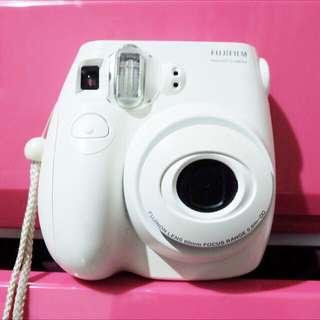 Instax Mini 7s White Polaroid