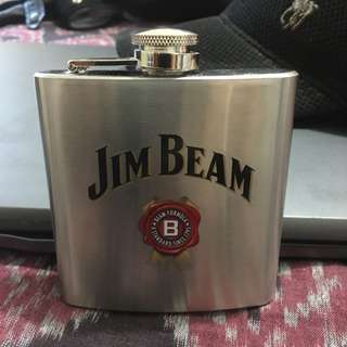 Steel Hip Flask