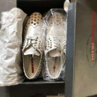 Prada 揰釘運動鞋