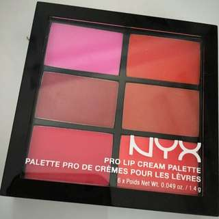 NYX Pro Lip Cream Palette | Shade Les Roses
