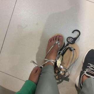 徵💥交叉綁帶涼鞋