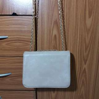 Clarins Chain Sling Bag