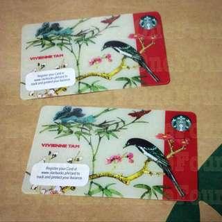 Starbucks Vivienne Tam Collectible Card