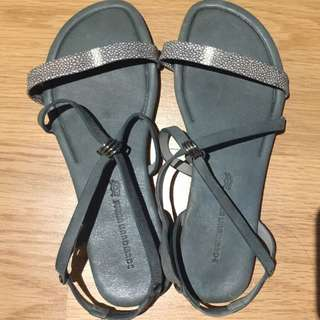 Handmade Leather Sandals 36