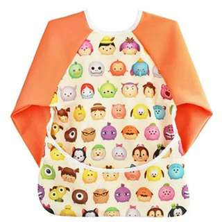 [PO] Tsum Tsum Bib Shirt / Cover Top For Baby Led Weaning Blw