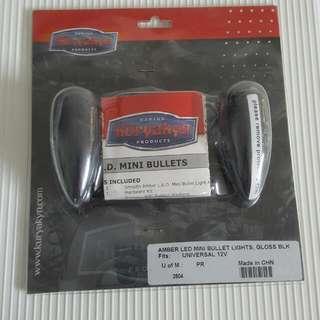 Kuryakyn Mini LED Bullet Turn Signal Light (BNIB)