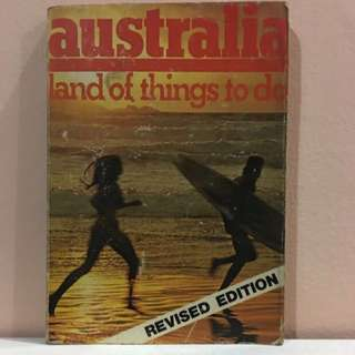 Australia land of things to do