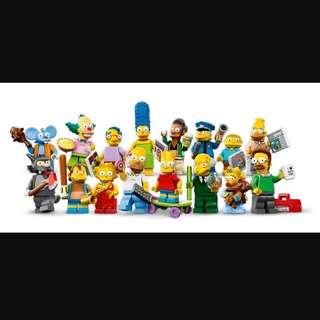 71005 Lego 超筍價$580,the Simpsons第一代❤️極平*