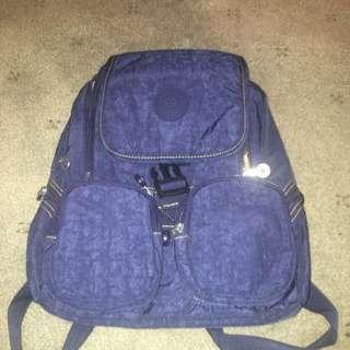 Denim Blue Backpack