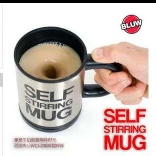 self stirring mug 自動攪拌杯