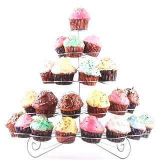 Sale!!!! 5 Layer  41-Cupcake Multi-Tiered Metal Dessert and Cupcake Stand