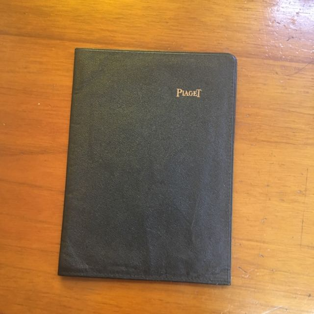 1980 Piaget Passport Holder