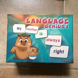 Shicida Language Flash Card