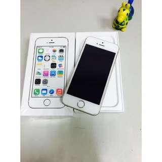 iPhone 5s 16g金色 女用機全配