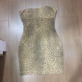 Zara Leopard Mini Dress