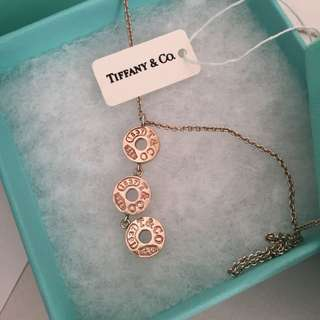 Tiffany & Co Trio Round Drops Necklace $390 In Sterling Silver