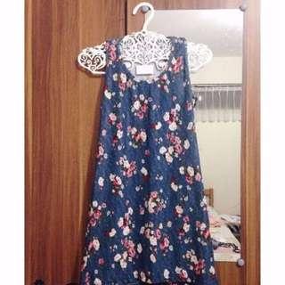 Floral Tank Top/ Mini Dress