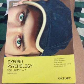 Oxford Psychology VCE unit 1 & 2 3rd Edition