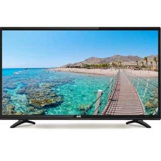 "Ace 43"" Slim Full HD LED Smart Tv Black."