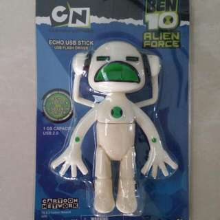 BEN 10 ALIEN FORCE USB 1GB
