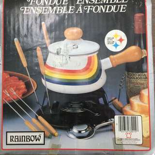 Vintage Fondue Set Never Used!