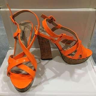 Fluro Orange Heels