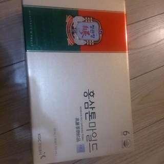 正品韓國高麗蔘飲品