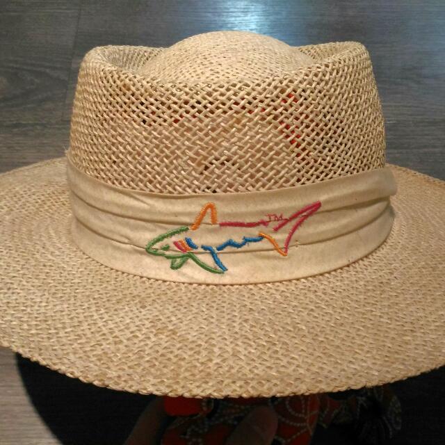 大白鯊紀念高爾夫球草帽