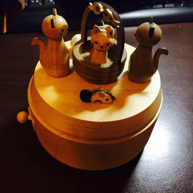 誠品 貓咪 音樂盒