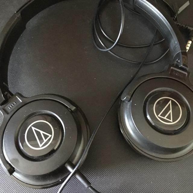 鐵三角耳罩式耳機 ATH-S100is