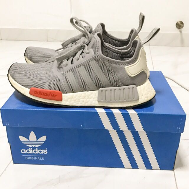 a9c3d90521be Authentic Adidas Nmd R1 Grey Moscow